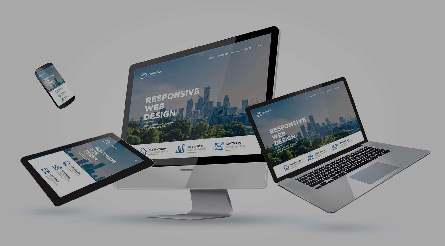création hébergement des sites web et application mobile responsive