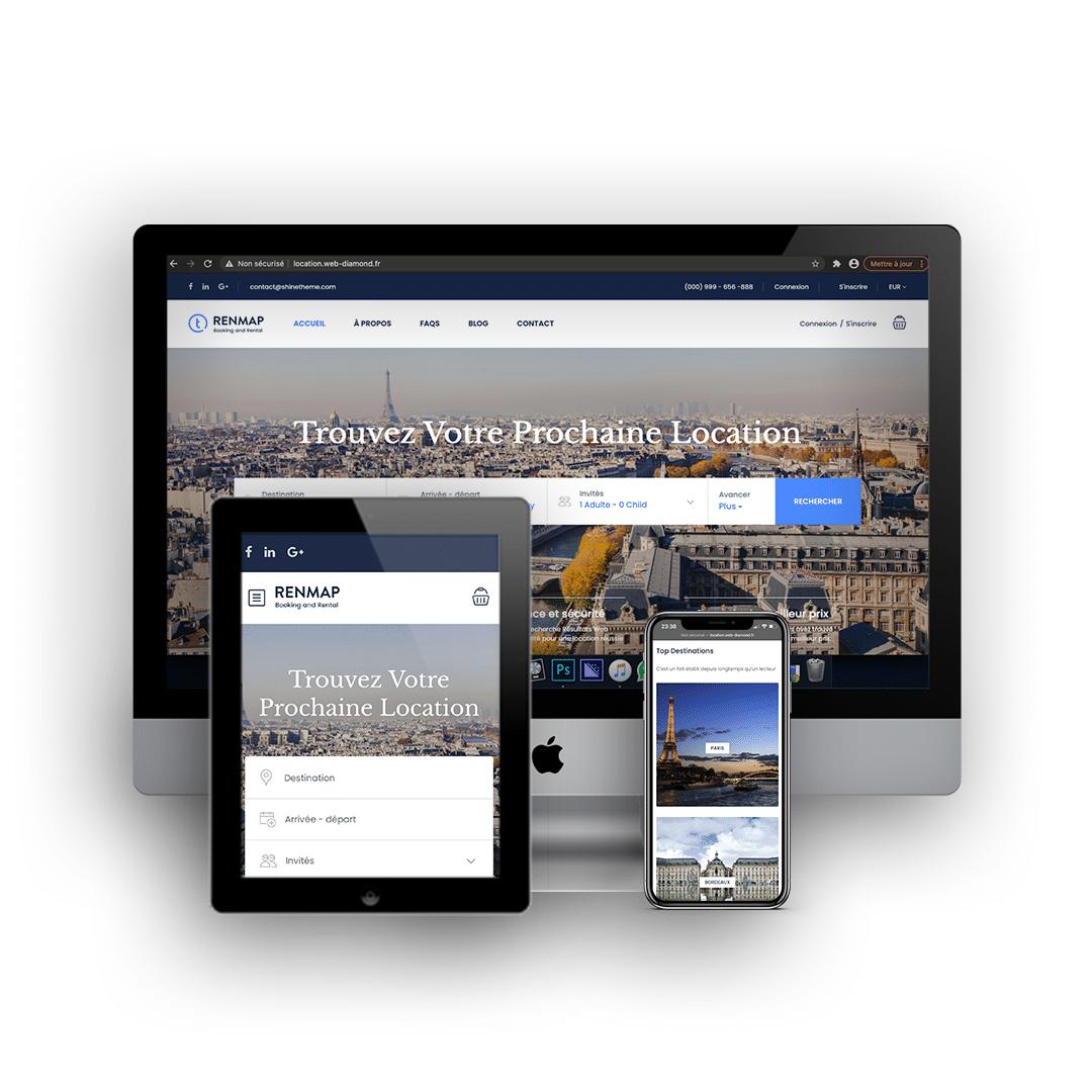 Site location e-commerce